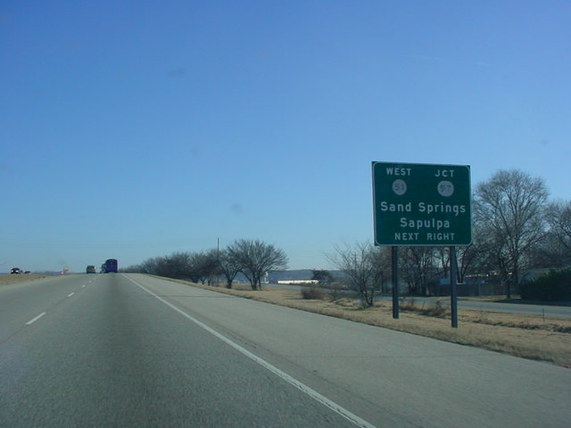 U.S. 64/U.S. 412 East at OK 51 West/OK 97