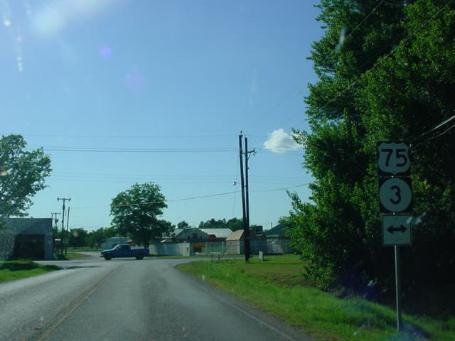 OK 43 West at U.S. 75/OK 3