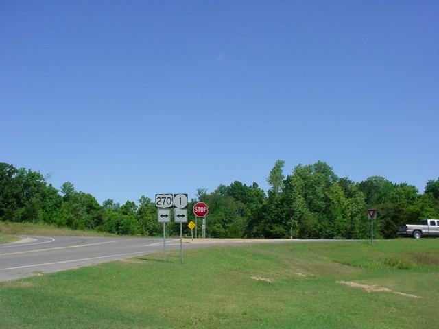 OK 31A North at U.S. 270/OK 1