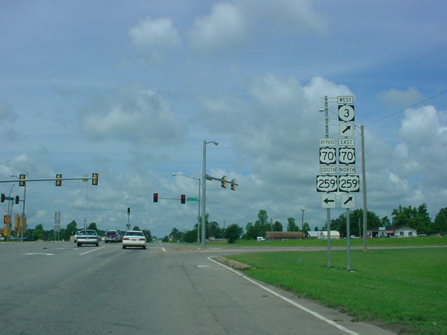 OK 3 West at U.S. 259