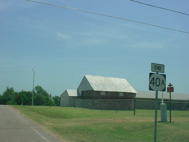 End OK 40A sign