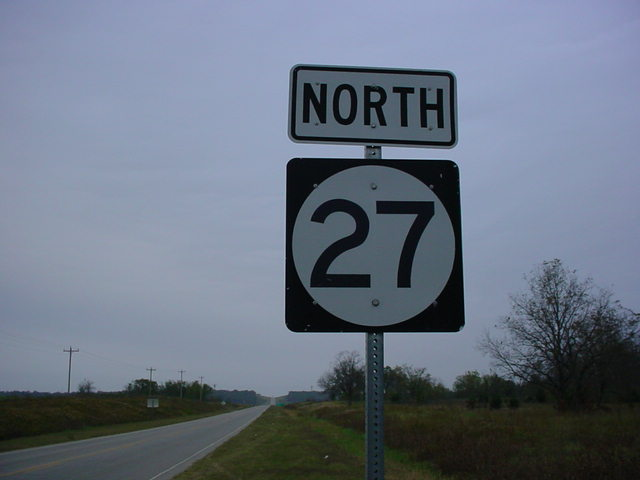 OK 27 North assurance shield